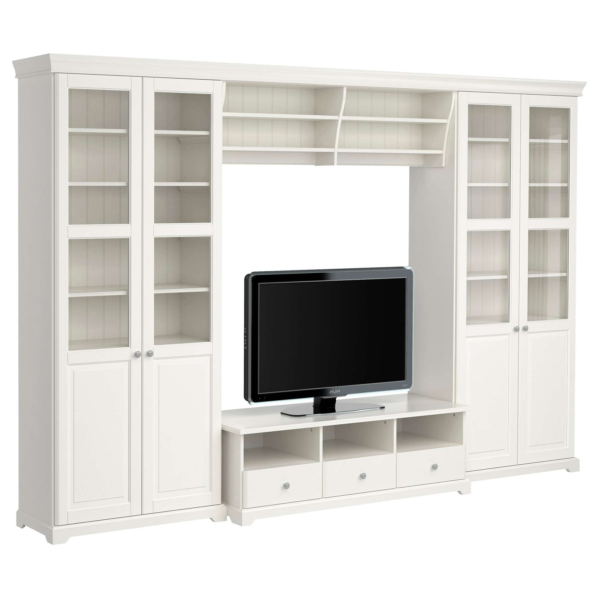 Liatorp Tv Storage Combination White Media Units Stands Ikea Within Tv Stands At Ikea (View 7 of 15)