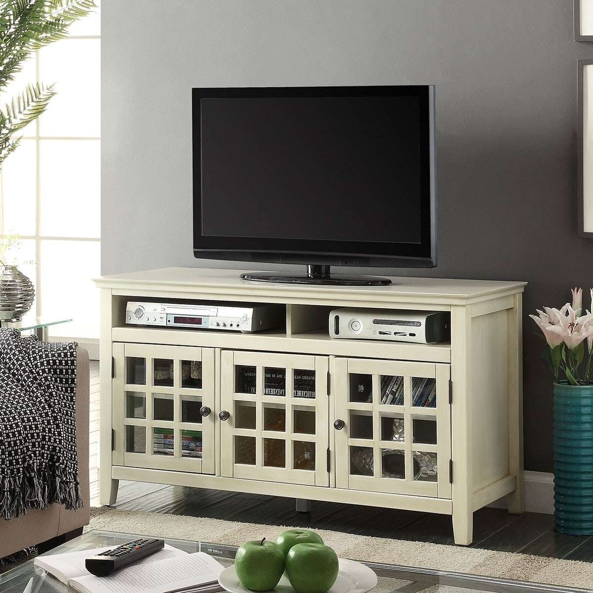 Featured Photo of Glass Front Tv Stands