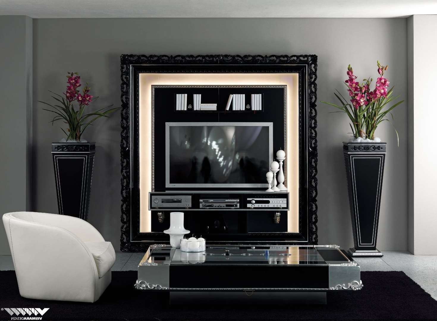 Living ~ Classic Tv Stands Wooden Furniture Marble Tv Stand Living In Classic Tv Cabinets (View 18 of 20)