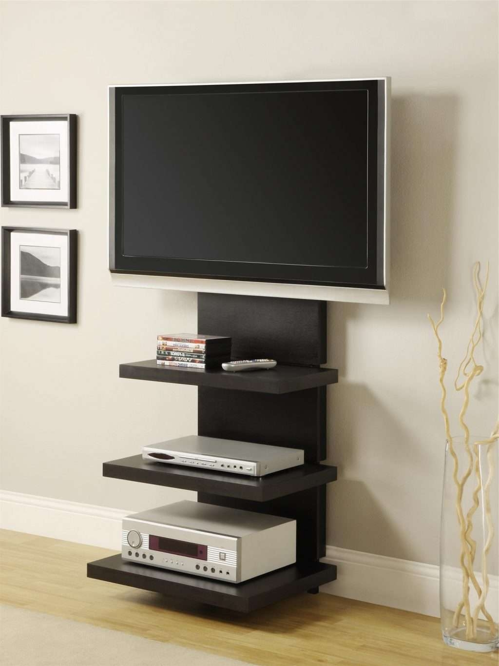 Living ~ Furniture Brown Yellows Wooden Tv Stands With Mounts And Inside Yellow Tv Stands (View 13 of 15)