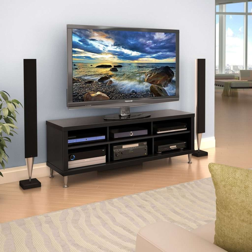 Living ~ Outstanding 55 Tv Stands Fireplace Tv Stand Walmart Inside Dvd Tv Stands (View 10 of 20)