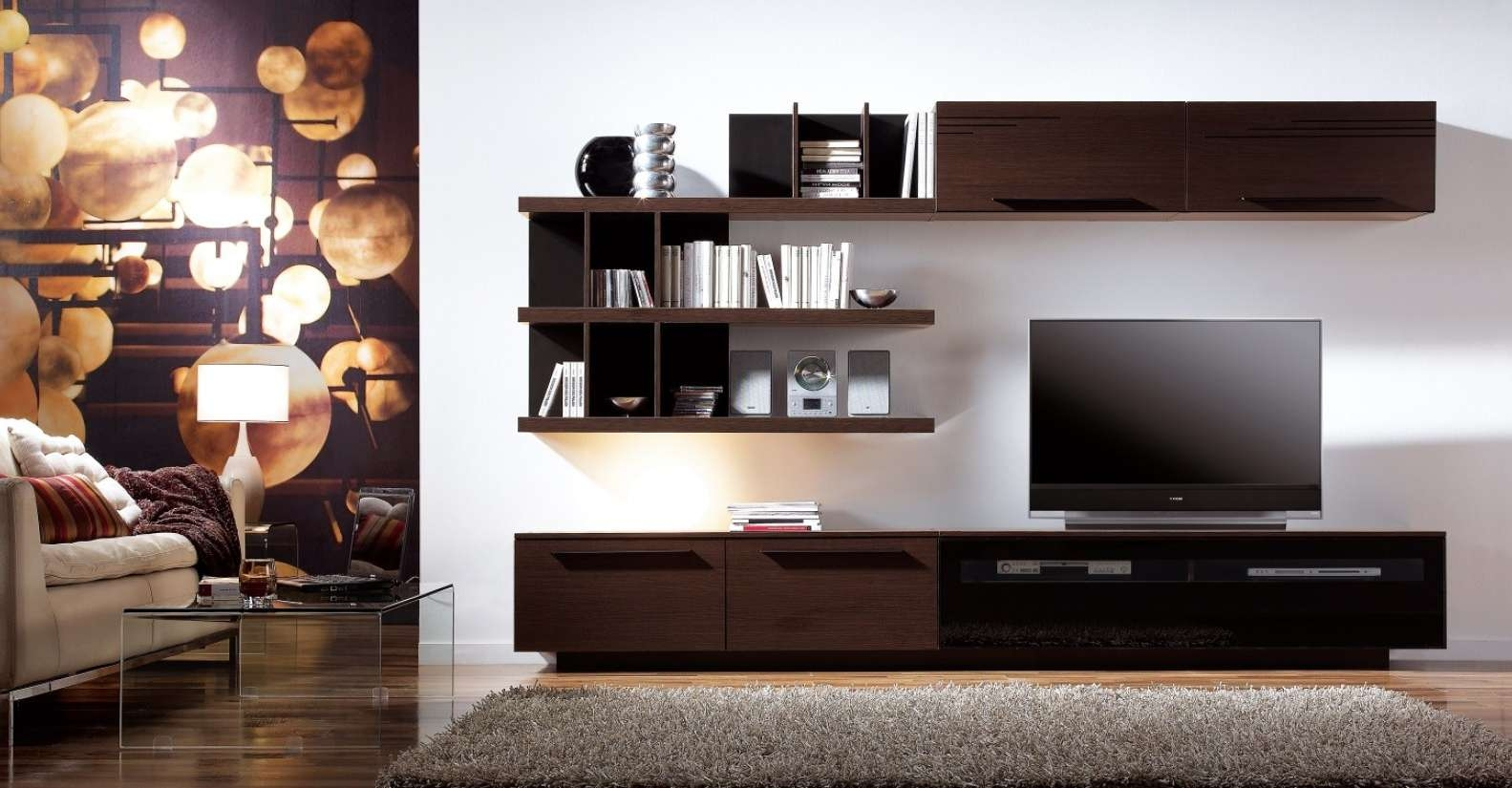 Living Room : Awesome And Beautiful Living Room Tv Stand Designs In Trendy Tv Stands (View 4 of 15)