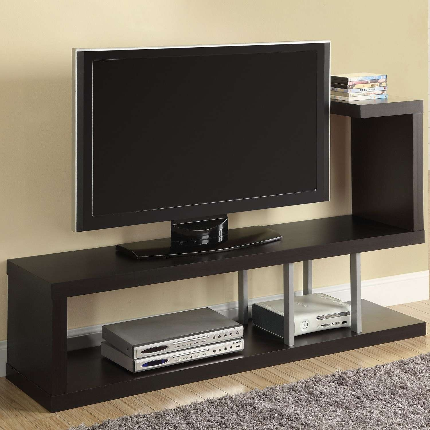 Living Room : Spartan Sofa Fire Place Tv Stands Best Color With Funky Tv Stands (View 2 of 15)