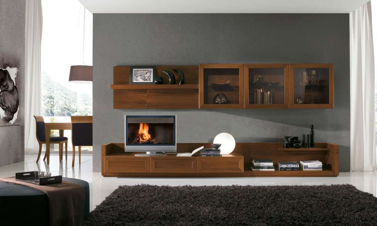 Living Room Wall Unit Basic Guidelines Family Decor With Gorgeous Inside Wall Display Units And Tv Cabinets (View 5 of 20)