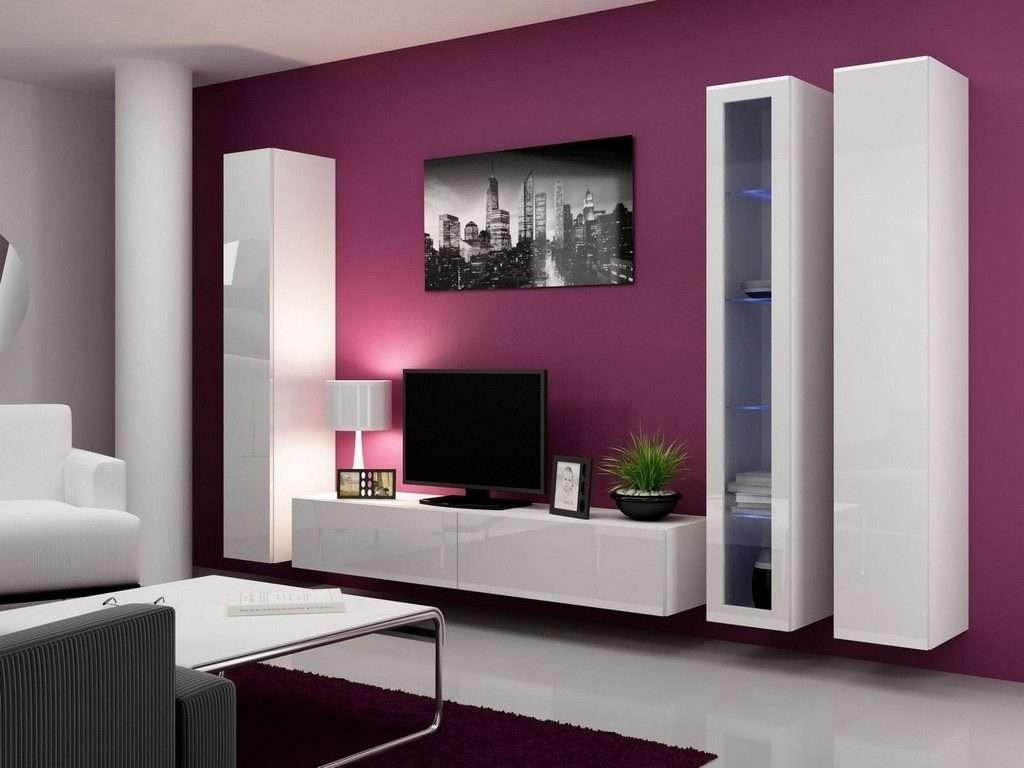 Living ~ Tv Stand Wall Unit Modern Tv Unit Design For Living Room Throughout Modern Tv Stands For Flat Screens (View 14 of 15)