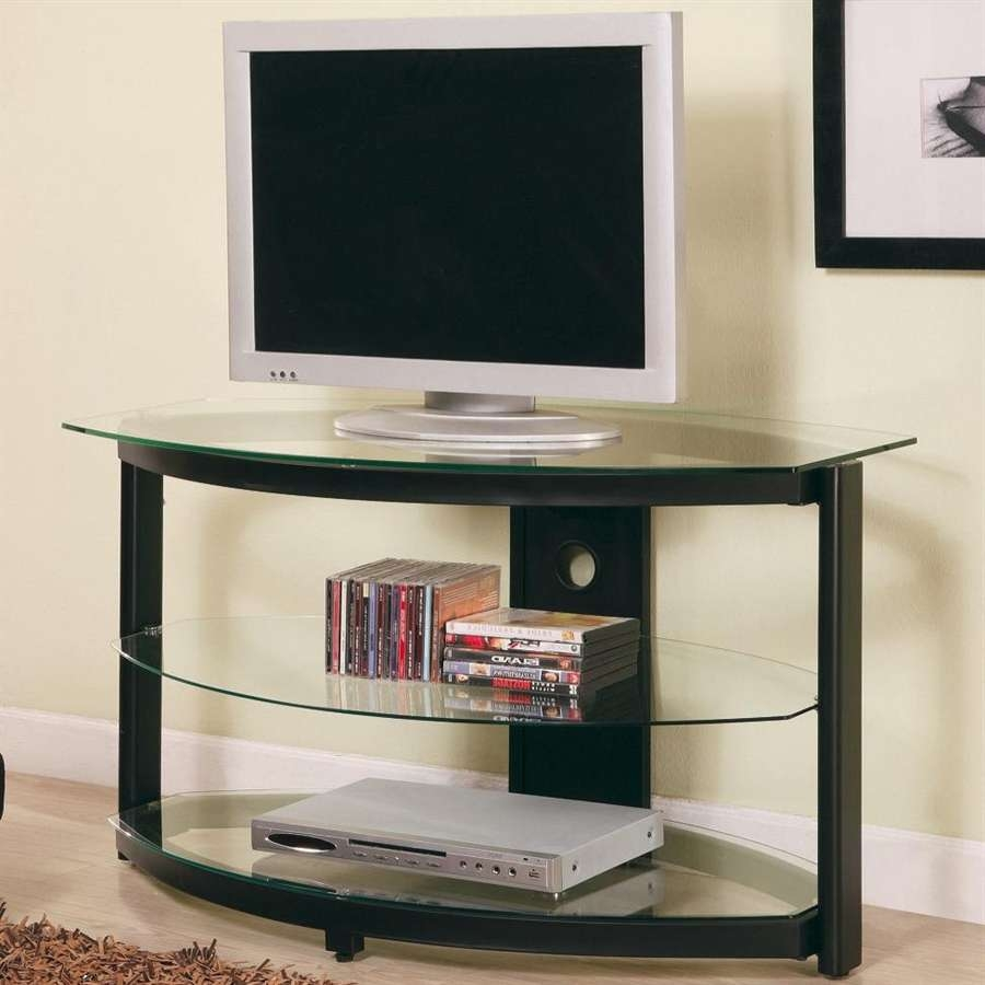 Lummy Inval America Curved Front Inches Tv Stand Beyond Stores With Regard To Corner Tv Stands For Flat Screen (View 12 of 15)
