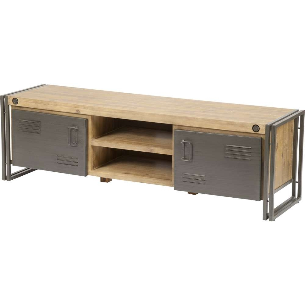 Lummy Tv Stand For Dvd Player Shelf Steel Art Raumobjekte Tv Stand Inside Reclaimed Wood And Metal Tv Stands (View 11 of 20)