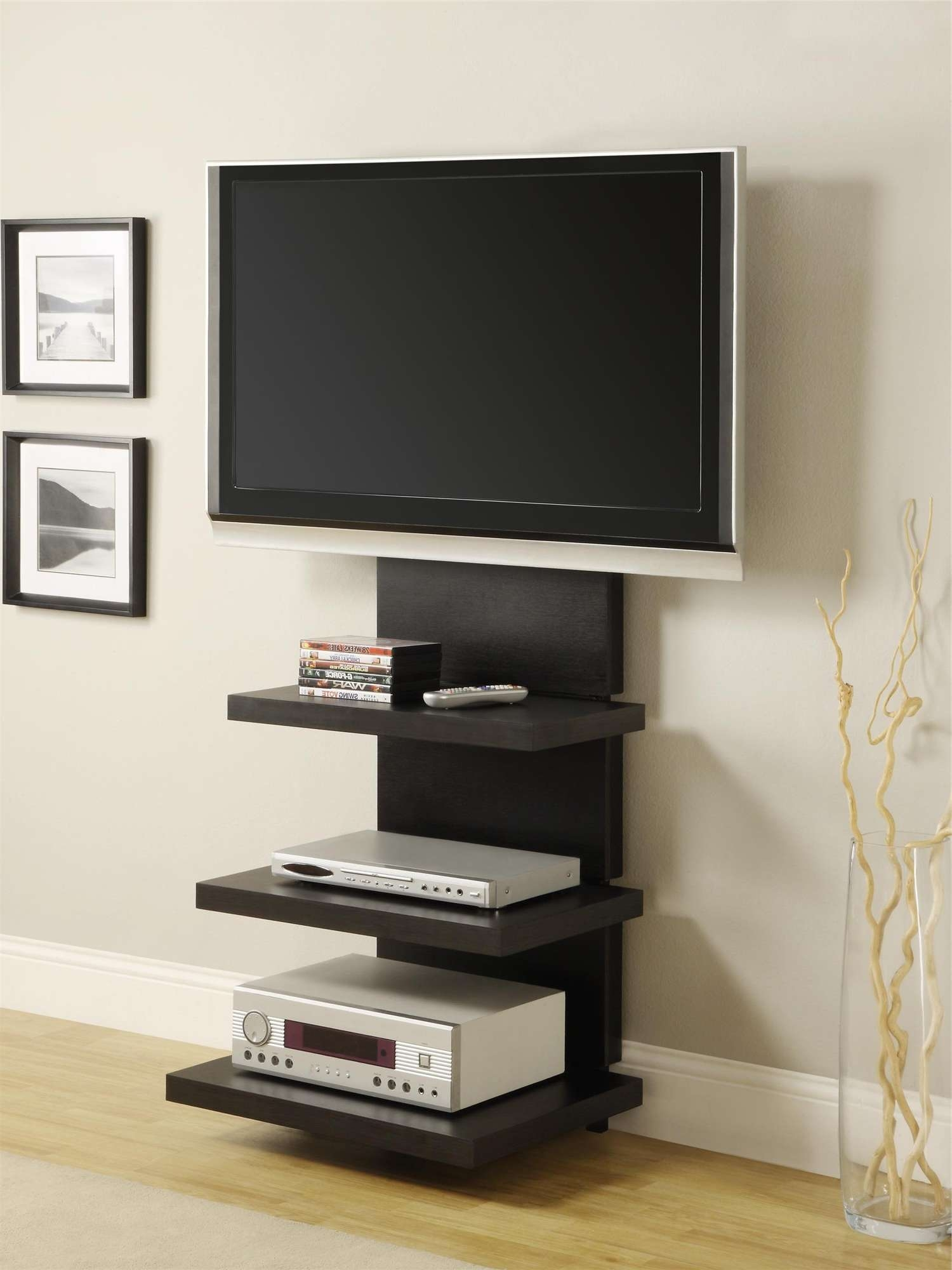 Luxurious Rolling Tv Stand Mobile Tv Cart And Wheels Tv Cart Stand For Dvd Tv Stands (View 2 of 20)