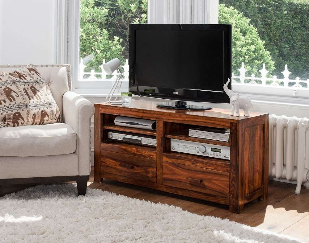 Mandir Sheesham Large Tv Unit | Casa Bella Furniture Uk With Regard To Sheesham Wood Tv Stands (View 9 of 15)