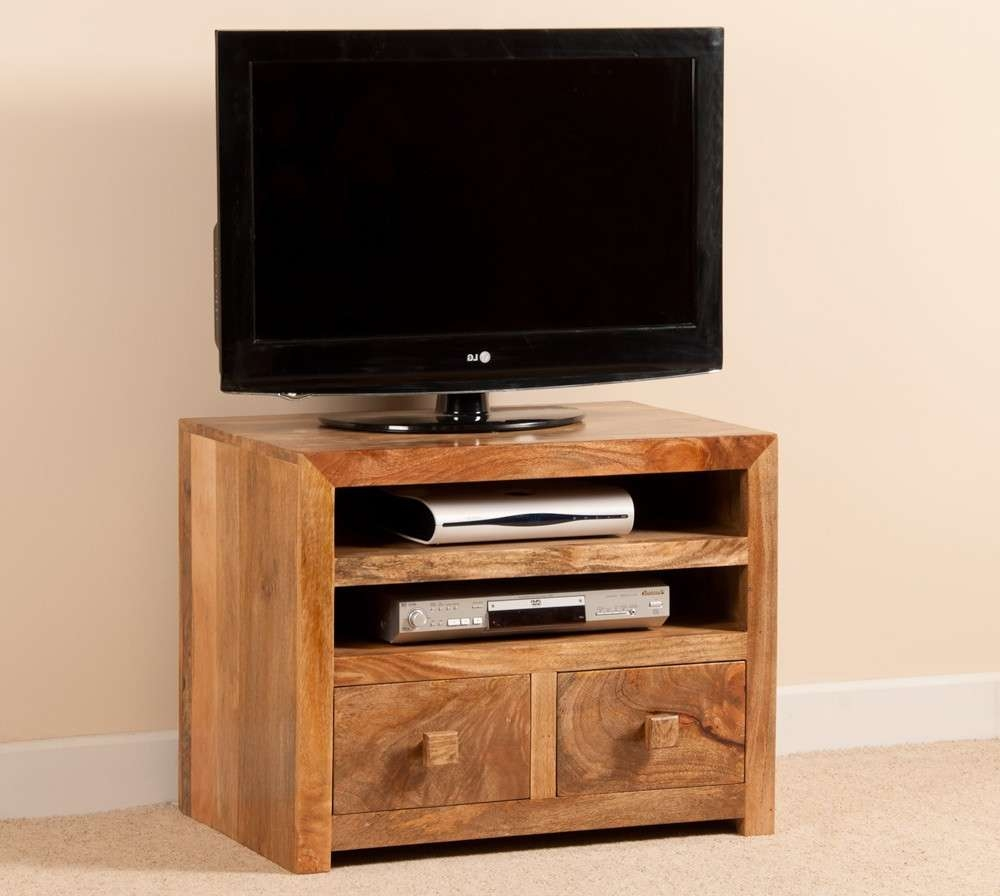 """Mango Indian Wood Small Tv Stand 
