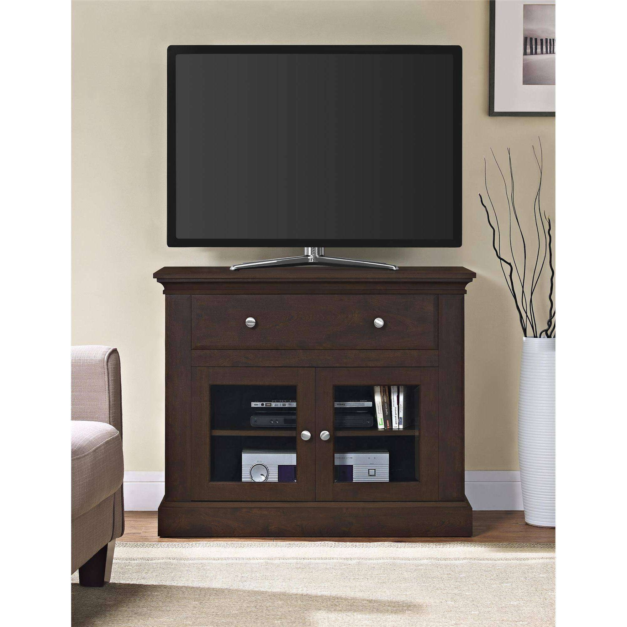 Manhattan Comfort Cabrini Tv Stand And Floating Wall Tv Panel With Intended For 32 Inch Tv Stands (View 8 of 15)
