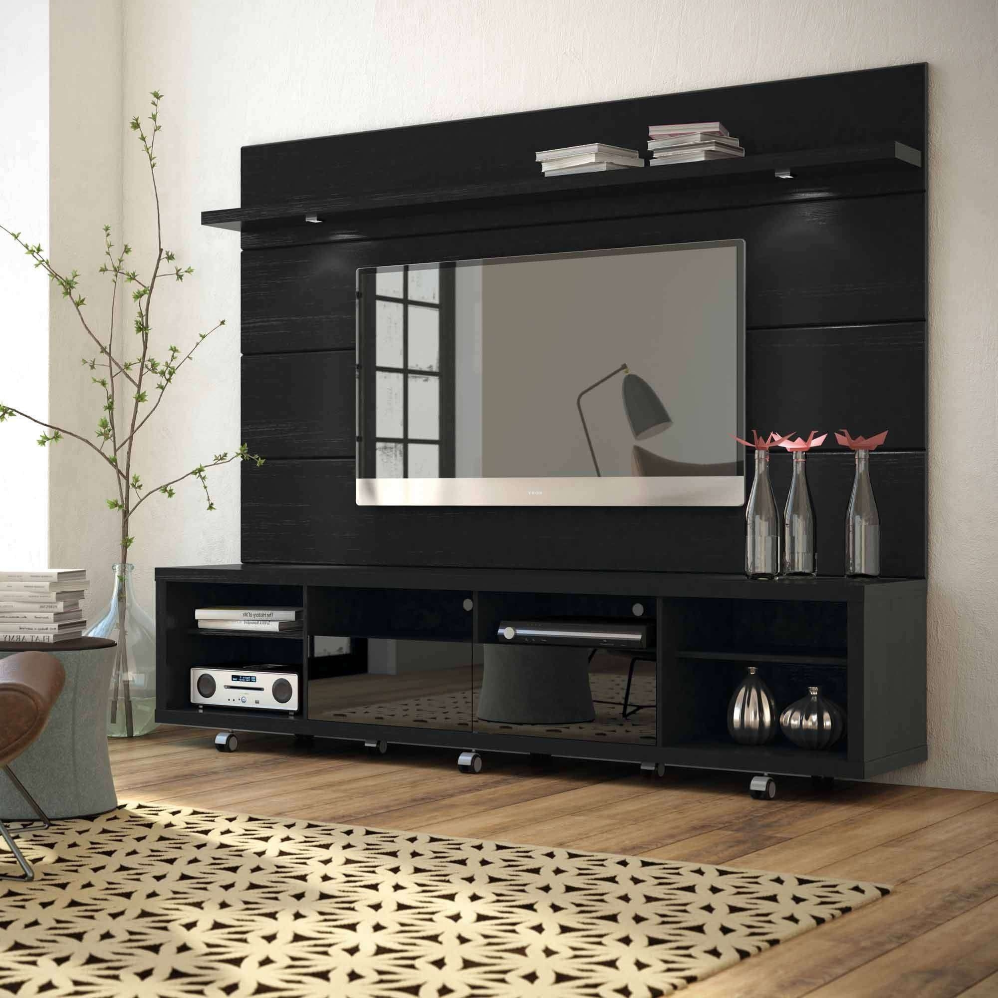 Manhattan Comfort Cabrini Tv Stand And Floating Wall Tv Panel With With Tv Stands For 50 Inch Tvs (View 5 of 15)