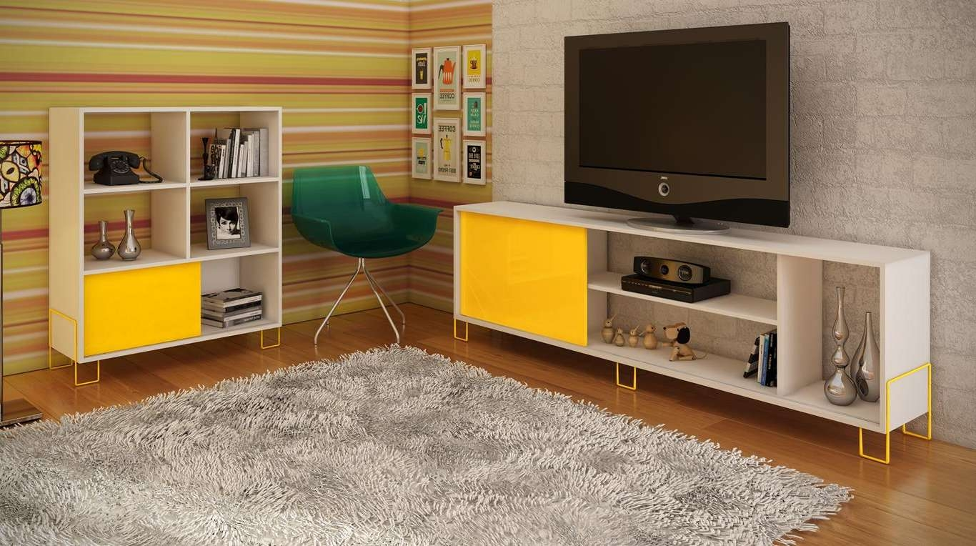 Manhattan Comfort Nacka Tv Stand  (View 7 of 15)