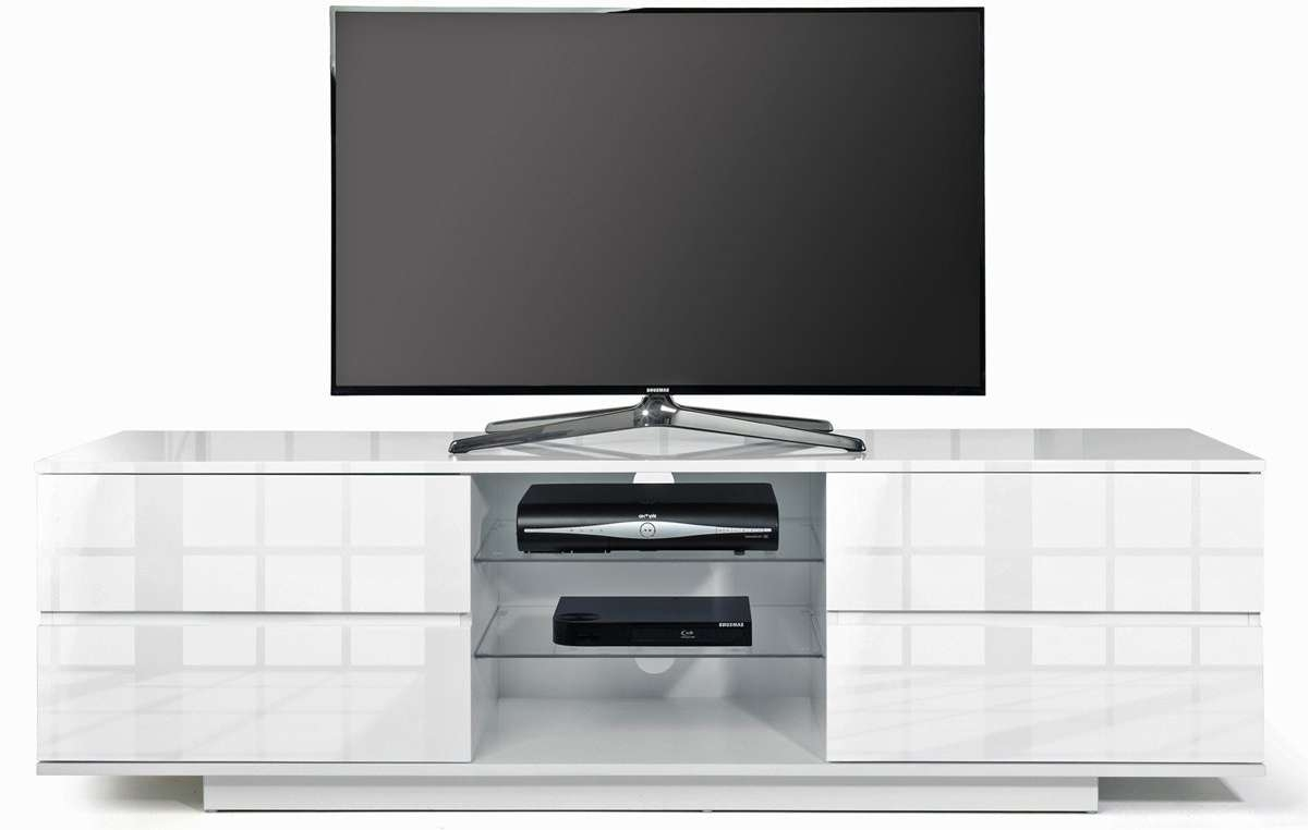 Mda Designs Avitus White/white Tv Stands With White Tv Cabinets (View 8 of 20)