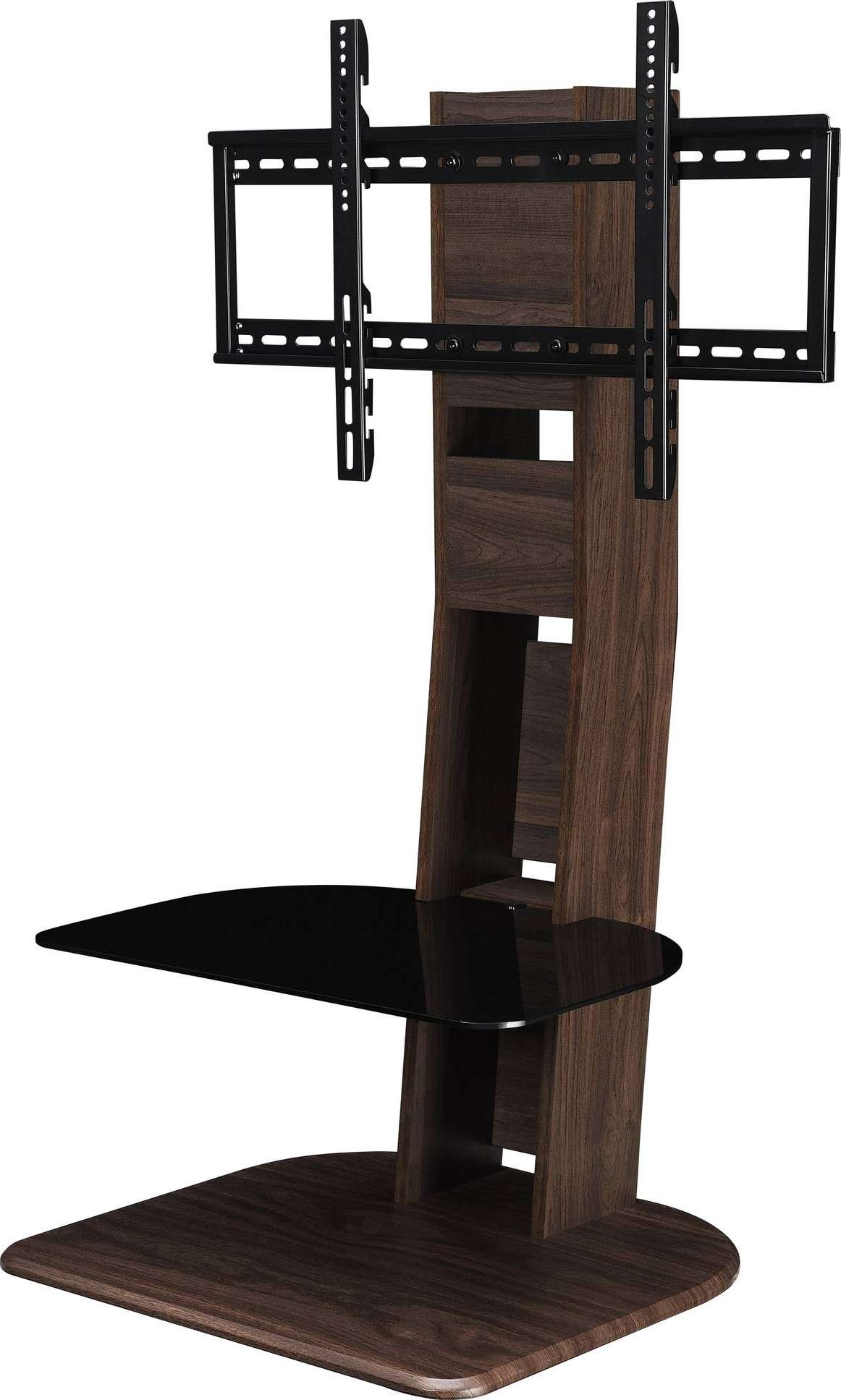 Media Stands For Flat Screen Tvs Modern Wood Tv Stand With Mount In Wood And Glass Tv Stands For Flat Screens (View 8 of 20)