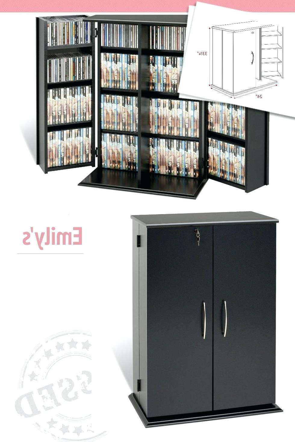 Media Storage Cabinet Walmart Modern Tv Stand Black White Target With Lockable Tv Stands (View 1 of 20)
