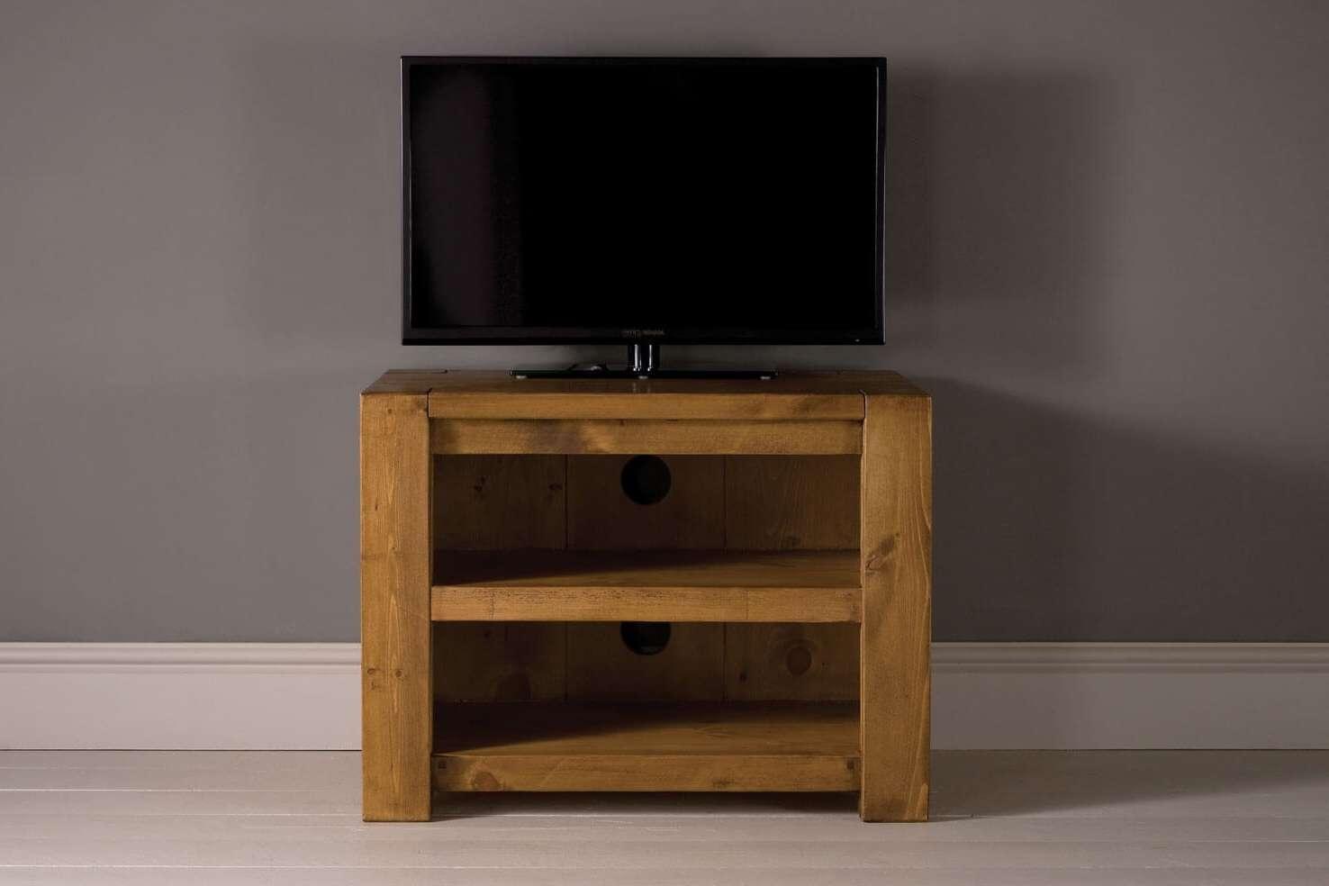 Midi Plank Beam Tv Cabinet With Shelfindigo Furniture Regarding Small Tv Cabinets (View 5 of 20)