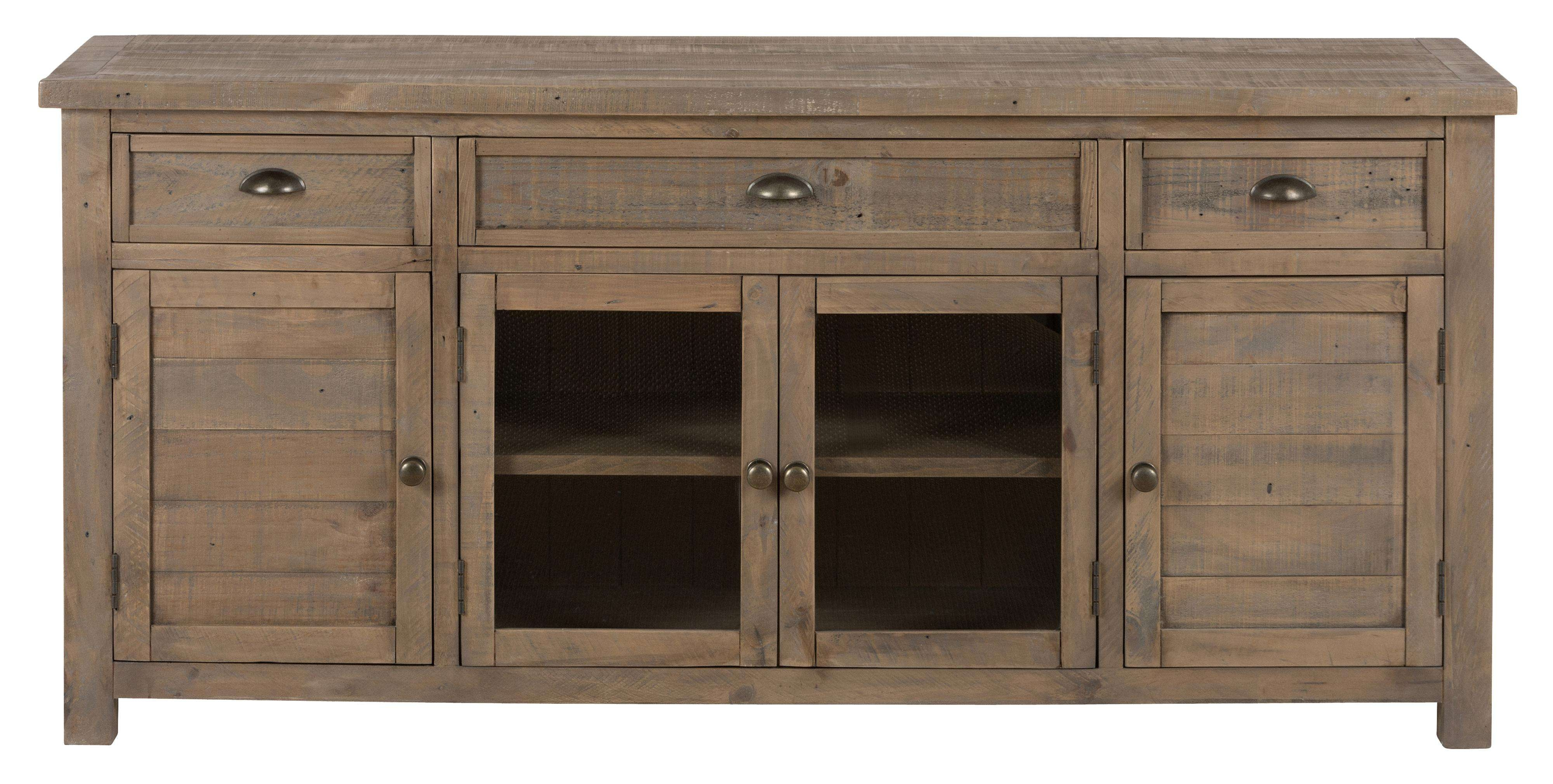 "Mill Creek – Reclaimed Wood 60"" Tv Stand – 942 60 Home In Recycled Wood Tv Stands (View 8 of 15)"