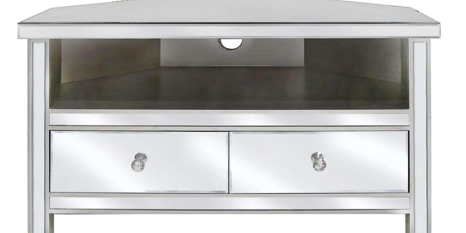 Mirror : Venetian Mirrored Corner Tv Stand Mirrored Corner Tv Regarding Mirrored Tv Cabinets (View 6 of 20)