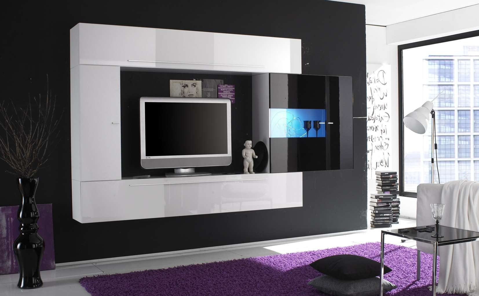 Modern Lcd Tv Cabinet Design Fancy Tv Panel Designs For Living With Regard To Fancy Tv Cabinets (View 11 of 20)