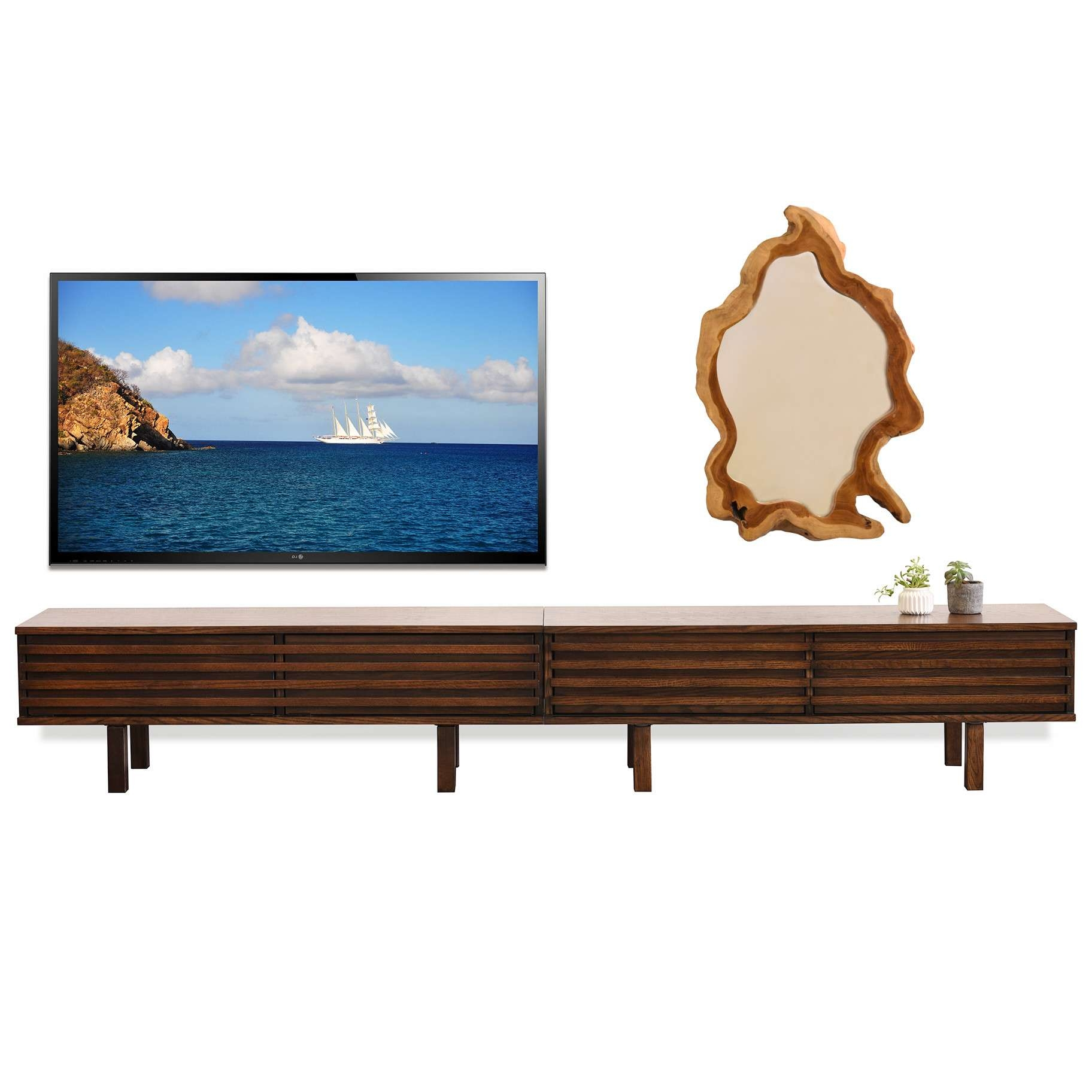 Modern Low Profile Tv Stand | Home Design Ideas Regarding Modern Low Profile Tv Stands (View 8 of 20)