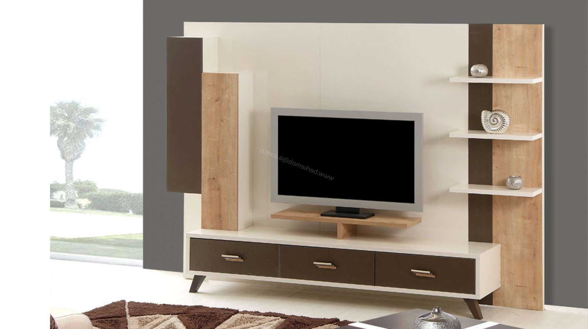 Modern Narrow Tv Stand With Drawers Cool Design Of Cool Tv Stands Regarding Cool Tv Stands (View 10 of 15)
