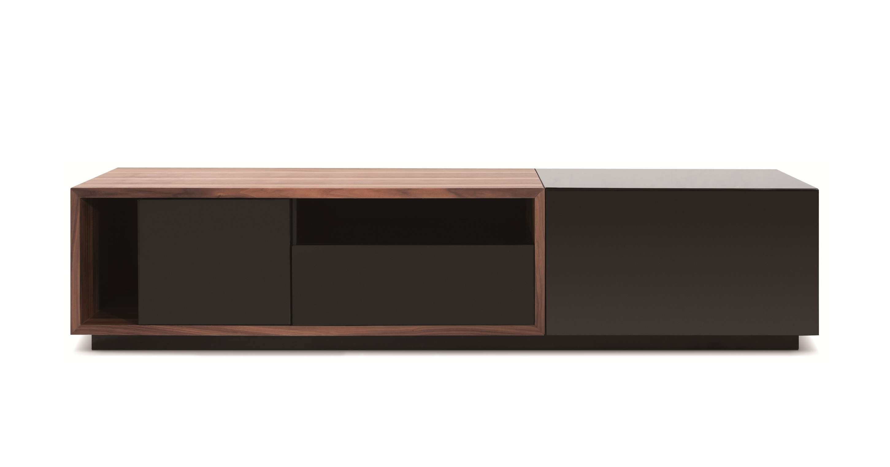 Modern Simple Short Wooden Tv Stand With Glass Doors Of Nice Short Within Wooden Tv Stands With Glass Doors (View 6 of 15)