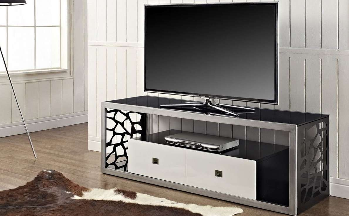 Modern Television Stand 60″ T.v (View 10 of 15)