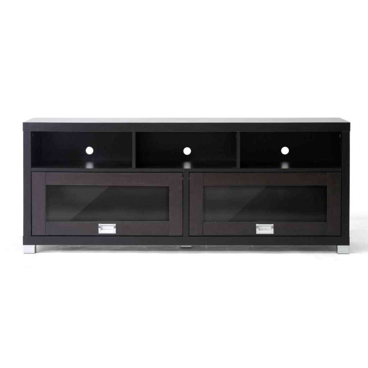 View Gallery Of Black Tv Cabinets With Doors Showing 20 Of 20 Photos