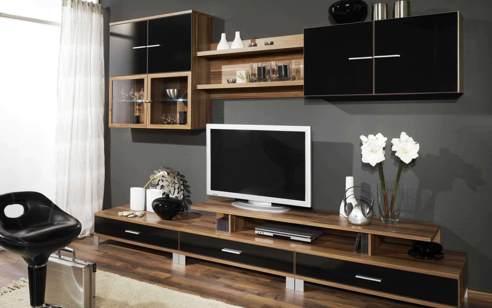 Modern Tv Stand With Bottom Drawers – Useful And Stylish Tv Stand Within Stylish Tv Stands (View 6 of 15)