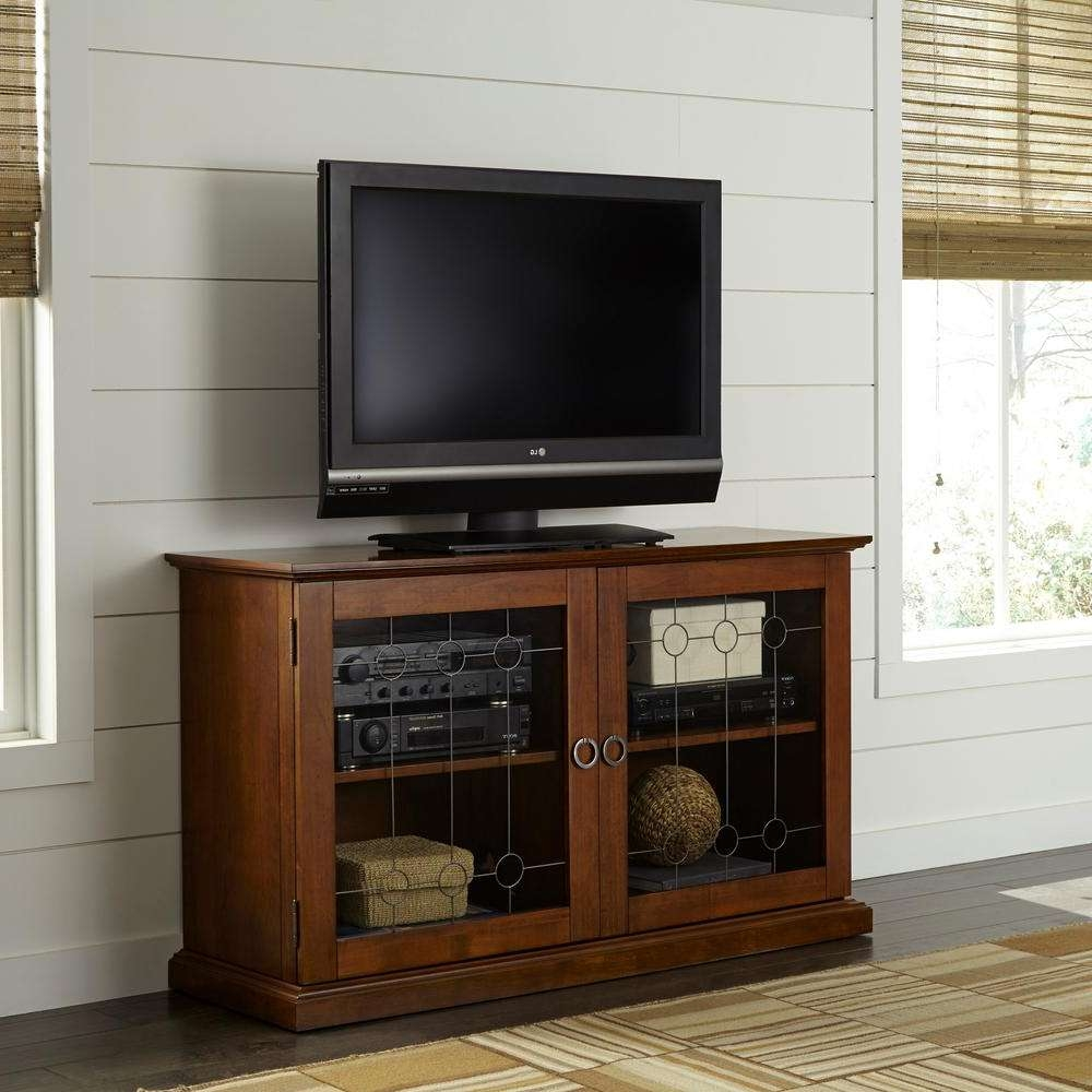 Modern – Tv Stands – Living Room Furniture – The Home Depot Throughout Fancy Tv Cabinets (View 10 of 20)