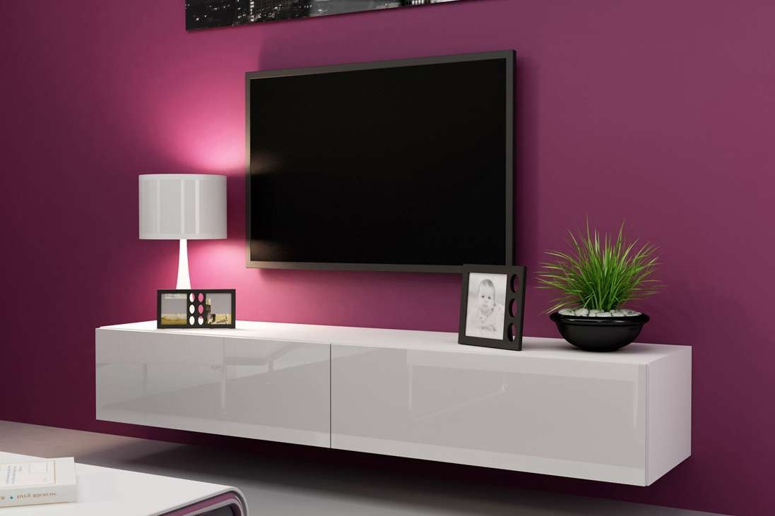 Modern Vigo Cama High Gloss Tv Cabinet ― Euro Interiors Ltd With White Gloss Tv Cabinets (View 17 of 20)
