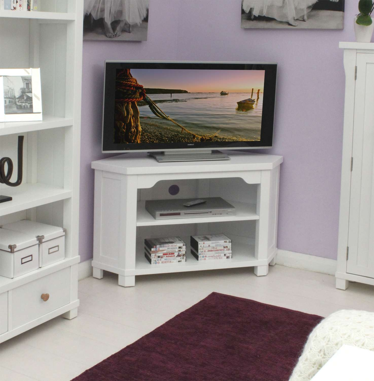 Modern White Oak Wood Corner Tv Stand Of Delightful White Corner For White Wood Corner Tv Stands (View 13 of 15)