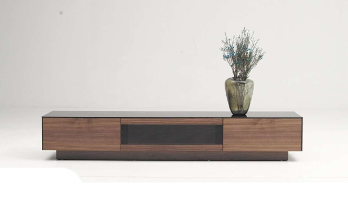 Modrest Darius Modern Walnut Tv Stand – Entertainment Centers For Modern Walnut Tv Stands (View 10 of 15)
