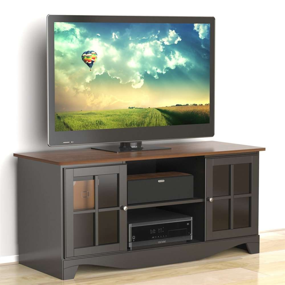 Nexera 101225 Pinnacle 54 Inch Tv Stand | Lowe's Canada Intended For Nexera Tv Stands (View 8 of 15)