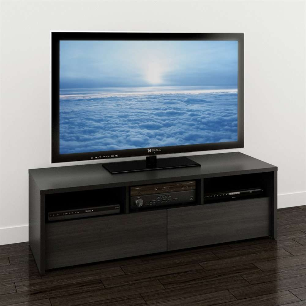Nexera 210406 Sereni T 60 In Tv Stand | Lowe's Canada Intended For Nexera Tv Stands (View 7 of 15)