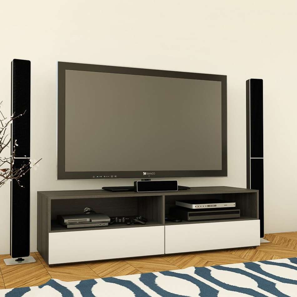 Nexera 220133 Allure 60 In Tv Stand | Lowe's Canada Intended For Nexera Tv Stands (View 4 of 15)