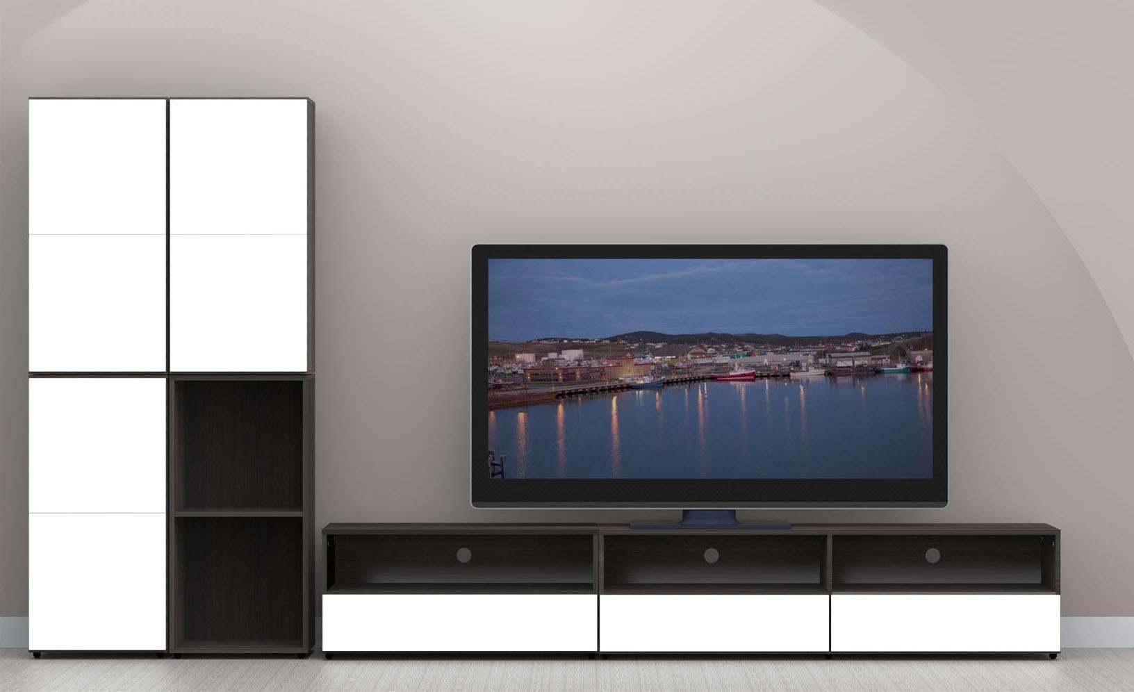 Nexera Allure 60 In Tv Stand N 220133 With Regard To Nexera Tv Stands (View 5 of 15)