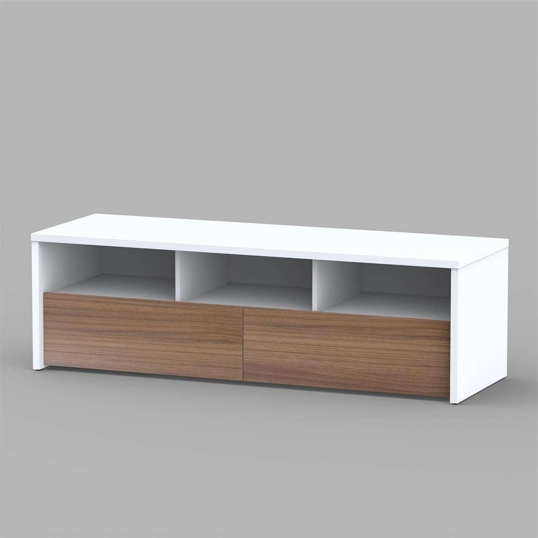 Nexera Liber T Tv Stand 210403 Intended For Nexera Tv Stands (View 7 of 15)