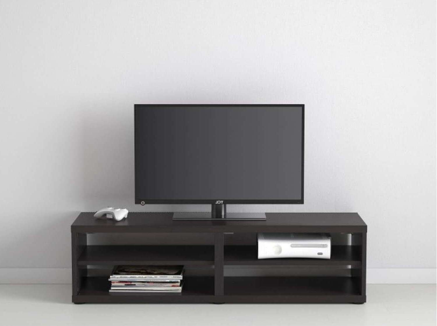 Noble Living Room Furniture Design Black Tv Stand And Furniture In Long Black Tv Stands (View 12 of 15)