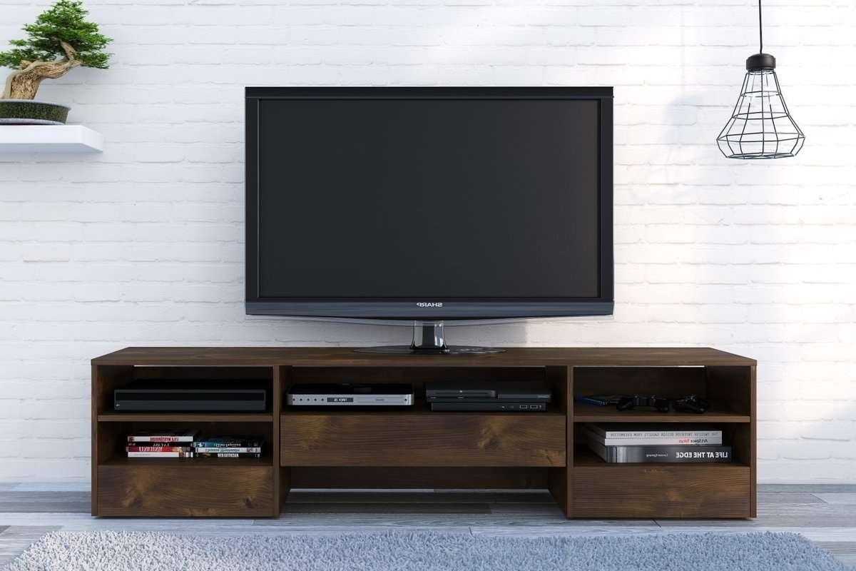 "Nori 72"" Wood Tv Stand & Reviews 