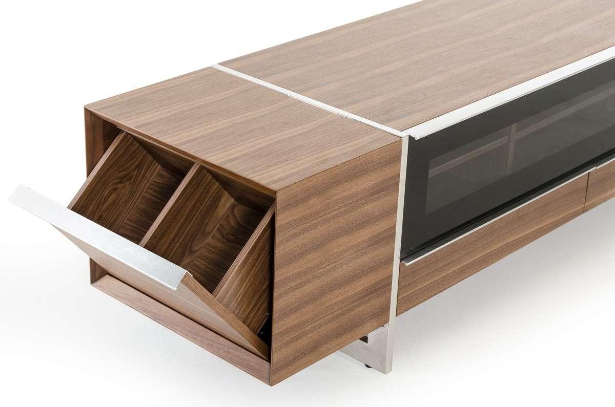 Nova Domus Lorena Modern Walnut Tv Stand In Modern Walnut Tv Stands (View 13 of 15)