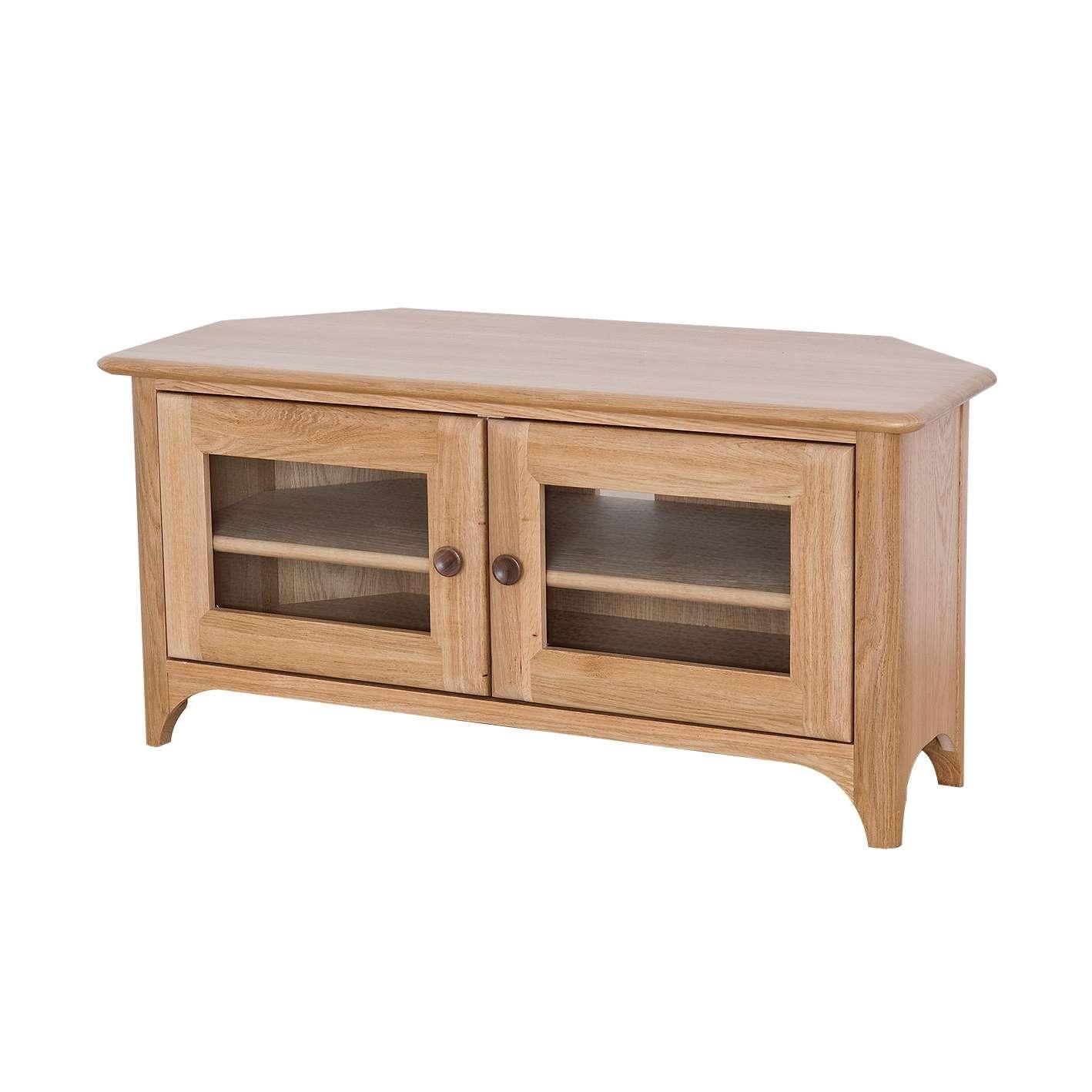 Oak Corner Tv Stand | Gola Furniture Uk Intended For Oak Corner Tv Stands (View 7 of 15)