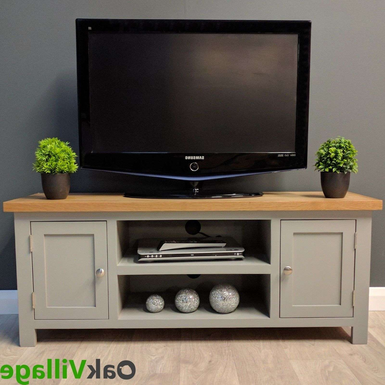 Oak Tv Stands | Ebay Inside Large Oak Tv Stands (View 11 of 15)