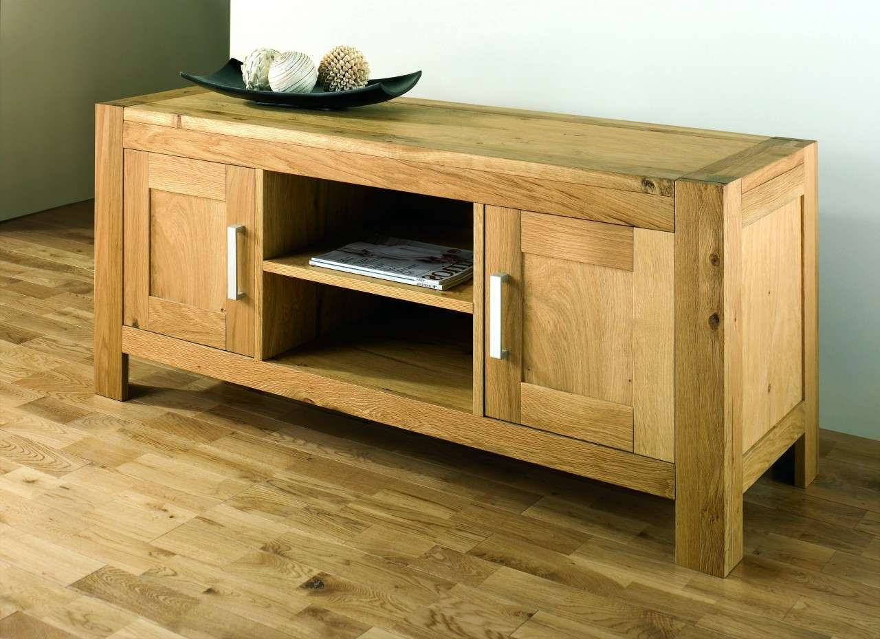 Oak Tv Unit With Regard To Long Oak Tv Stands (View 9 of 20)