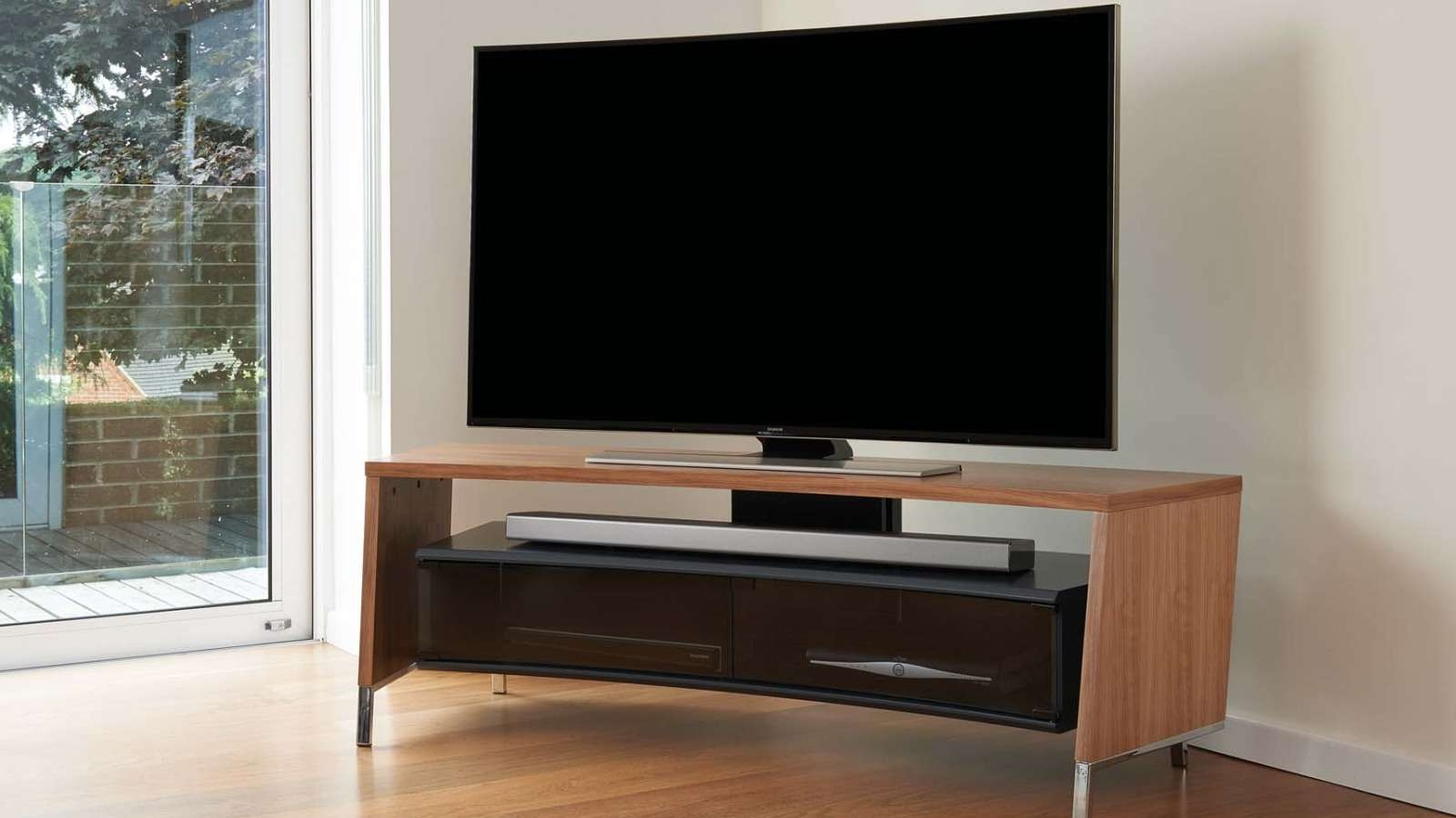 Off The Wall – Flat Screen Tv Stands Inside Off Wall Tv Stands (View 6 of 15)