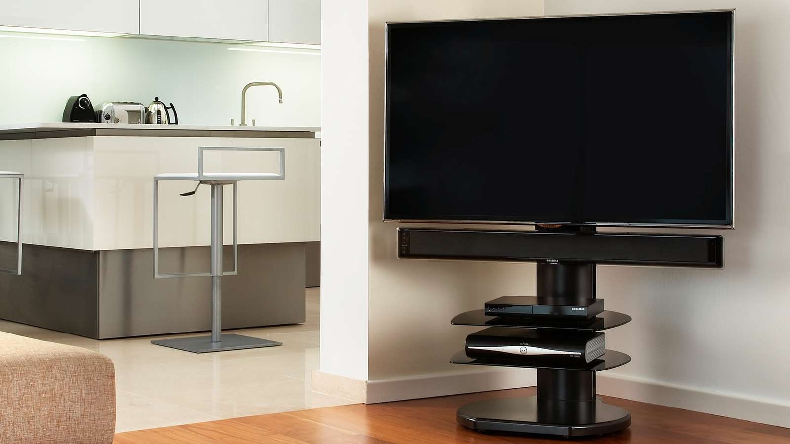 Off The Wall – Flat Screen Tv Stands With Off Wall Tv Stands (View 8 of 15)