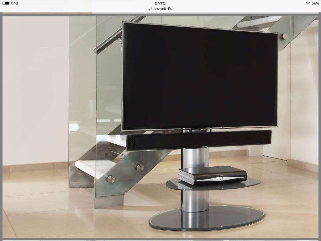 """Off The Wall"""" Tv Stand With Sound Bar Fixing 