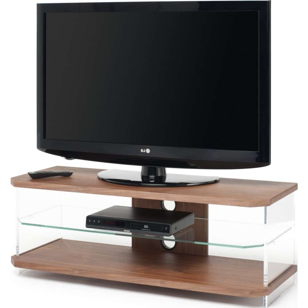 Optically Clear Side Panels; Screens Up To 55 Inside Techlink Air Tv Stands (View 10 of 20)