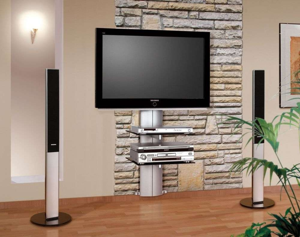 Orion Wall Mounted Tv Stand With Bracket Pertaining To Modern Wall Mount Tv Stands (View 5 of 20)